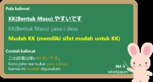 KK + yasu-i desu / niku-i desu