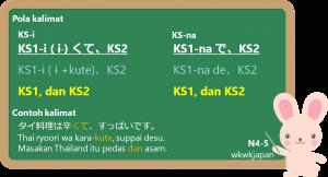 KS-i kute / KS-na de ~