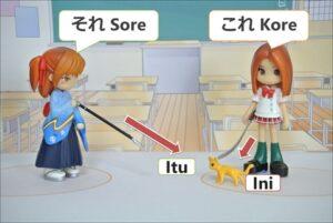 Kata Penunjuk Kore, Sore, dan Are