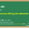 KB1 to iu KB2 (KB1というKB2)