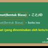 Koto dan No: Menominakan Kalimat「こと」と「の」