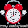 Kosakata Waktu Pukul (Jam) / Menit / Detik dalam Bahasa Jepang