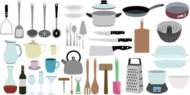 Peralatan Dapur Dalam Bahasa Jepang