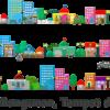 Nama Toko, Bangunan, dan Tempat di Kota dalam bahasa Jepang