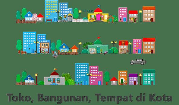 Nama Toko Bangunan Dan Tempat Di Kota Dalam Bahasa Jepang Belajar Bahasa Jepang Online Wkwkjapan